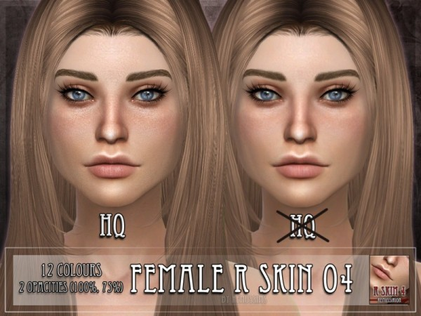 The Sims Resource: Skin 4 by RemusSirion