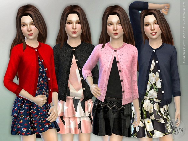 The Sims Resource: Designer Dresses Collection P50 by lillka