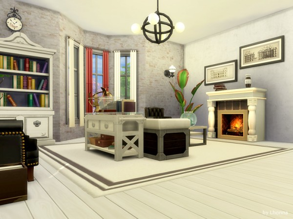 The Sims Resource: Old Brick Avenue 34   The Red Dwarf by Lhonna