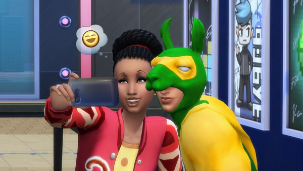 The Sims: Embrace Your Inner Geek at GeekCon in The Sims 4 City Living