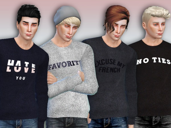 The Sims Resource Favorite Sweaters By Simlark Sims 4