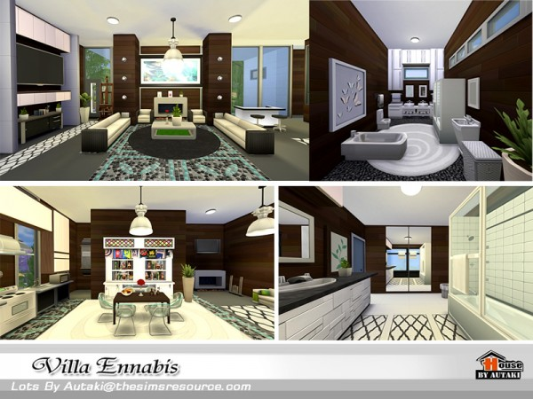 The Sims Resource: Villa Ennabis by autaki