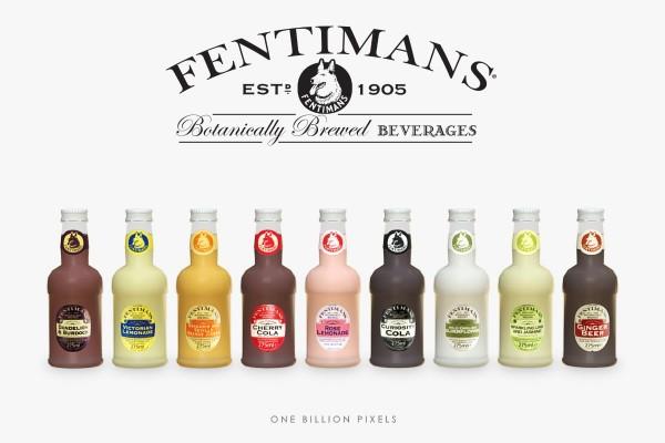 One Billion Pixels: Fentimans Beverage Clutter
