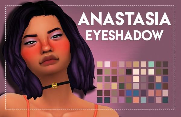 Simsworkshop: Anastasia Inspired Eyeshadow by Weepingsimmer