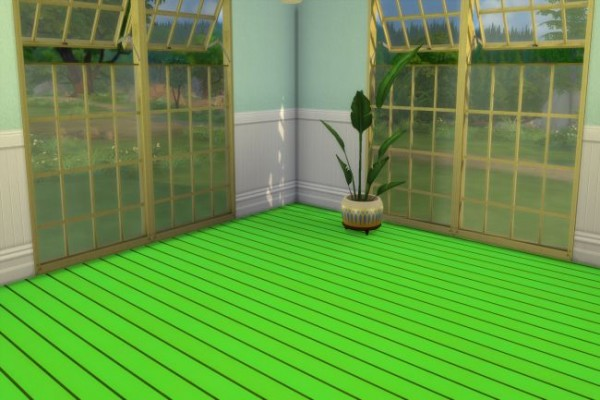 Blackys Sims 4 Zoo: Wood Floor 5 by ChiLLi