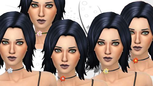 La Luna Rossa Sims: Passion Flower   Choker