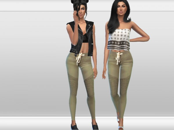 The Sims Resource: Trendy Pants by Puresim