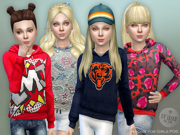The Sims Resource: Hoodie P06 by lillka
