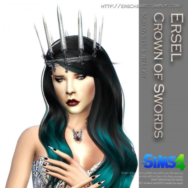 ErSch Sims: Crown of Swords by Ersel