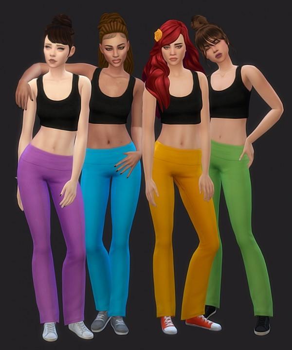 Simsworkshop: Base game yoga pants