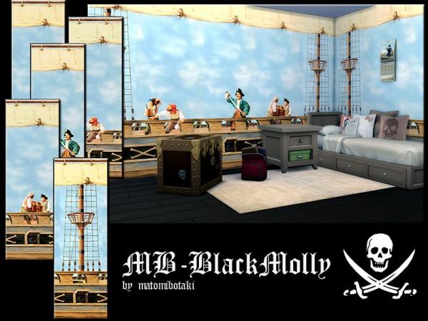 The Sims Resource: Black Molly set by matomibotaki