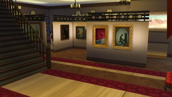 Ihelen Sims: Museum of Windenburg by fatalist