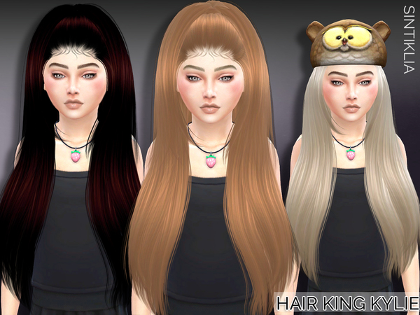 The Sims Resource: Sintiklia   Child hair King Kylie