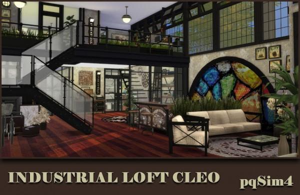 Pqsims4 Industrial Loft Quot Cleo Quot Sims 4 Downloads