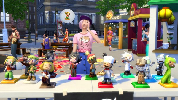 The Sims: Get Thrifty with the Flea Market in The Sims 4 City Living