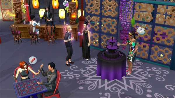 The Sims: Smile! Its the Humor and Hijinks Festival in The Sims 4 City Living