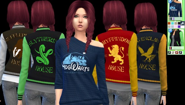 Auri Sims: Harry Potter Pack