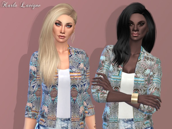 The Sims Resource: Nana Jacket by Karla Lavigne