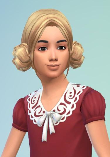 Birkschessimsblog: 2 Buns Hair Mother&Daughter