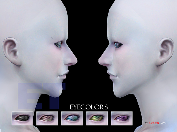 The Sims Resource: Eyecolor 41 by S Club