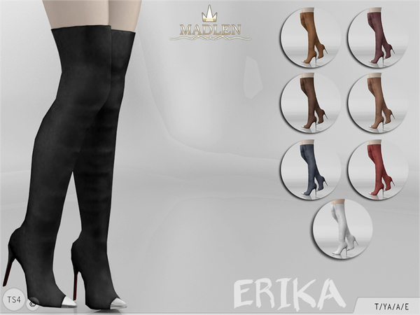 The Sims Resource: Madlen Erika Boots by MJ95