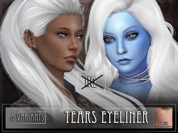 The Sims Resource: Tears   Eyeliner by Remus Sirion