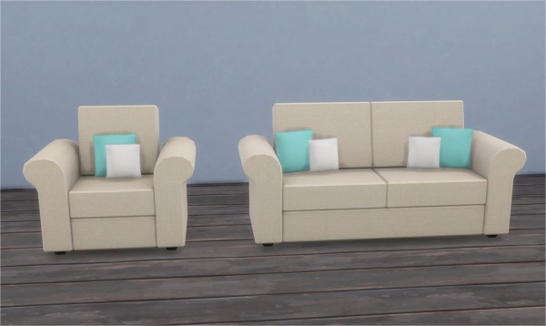Veranka: Sea Breeze Living Room
