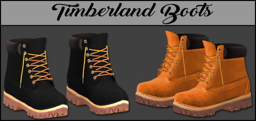 LumySims: Timber Boots