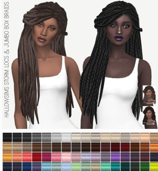 Miss Paraply: Hallowsims Storm: solids