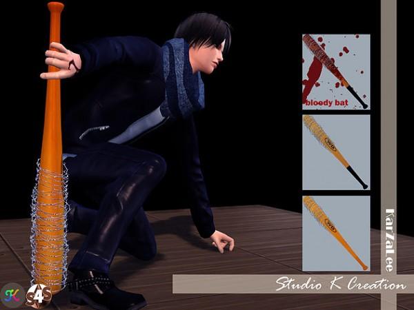 Studio K Creation Twd Baseball Bat Sims 4 Downloads