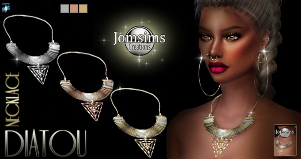 Jom Sims Creations: Diatou collier