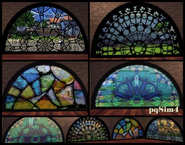 PQSims4: Semicircular windows