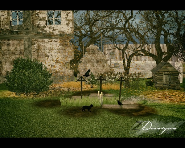 Sims 4 Designs: Beosboxboy Halloween Set