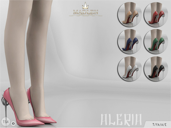 The Sims Resource: Madlen Aleria Shoes by MJ95