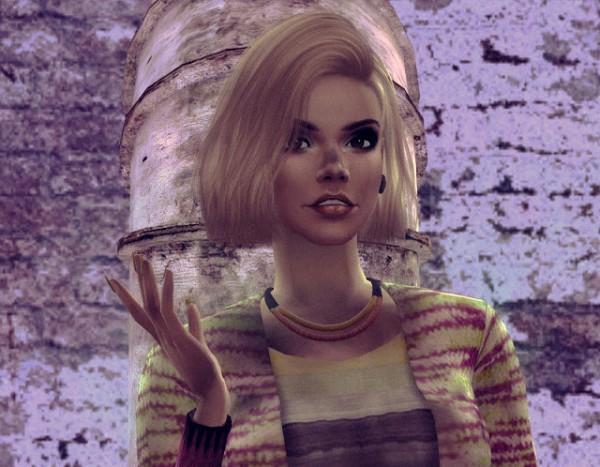 Melissa Sims 4: Dinar sims model