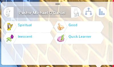 Mod The Sims: Spiritual Custom Trait by kateintheAM
