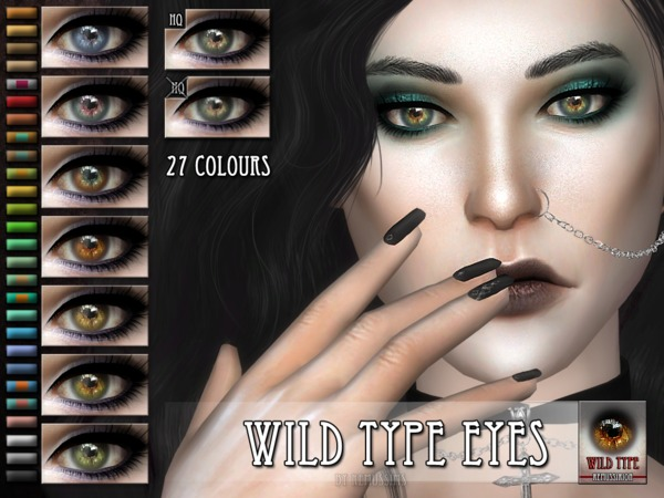 The Sims Resource: Wild type Eyes by RemusSirion