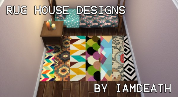 Sims 4 Studio: Rugs house design by Iamdeah
