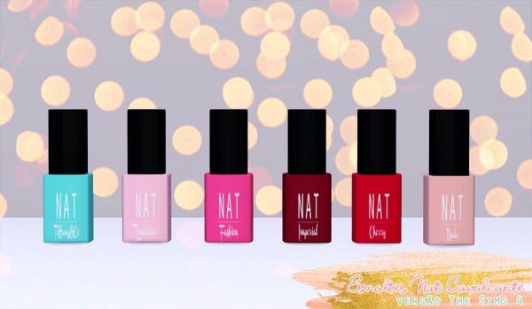 Nat Dream Sims: Collection enamels