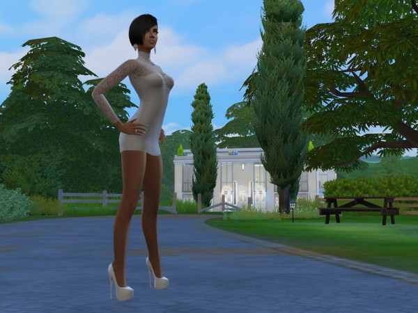 The Sims Resource: High heels pumps for poses only by Zelrish