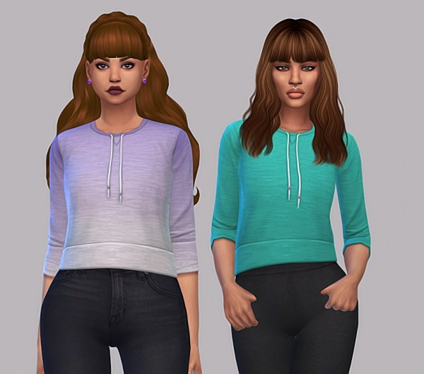 Simsworkshop: Tabby top 28 colors by maimouth