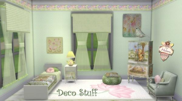 Alelore Sims 4: Deco stuff