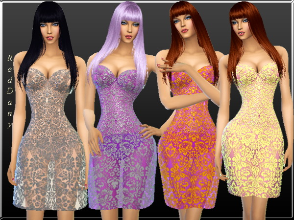 Dany`s Blog: Lace floral mini dress