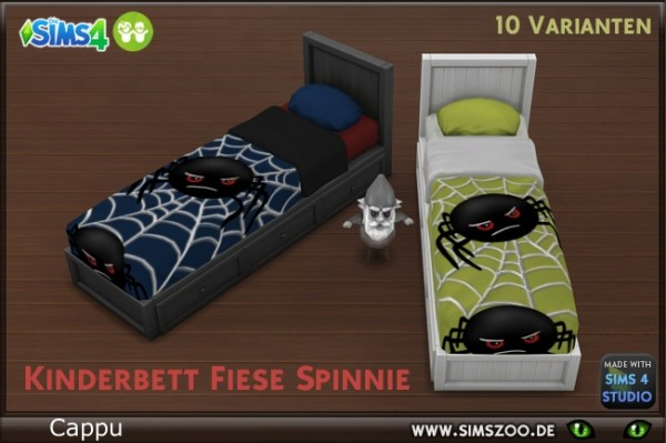 Blackys Sims 4 Zoo: Children bed web spider