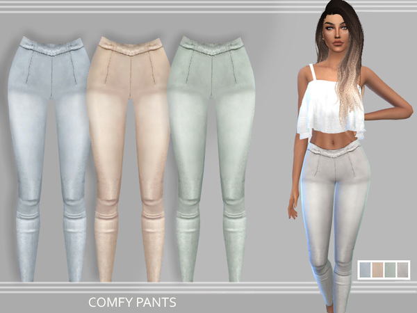 The Sims Resource: Comfy Pants by Puresim