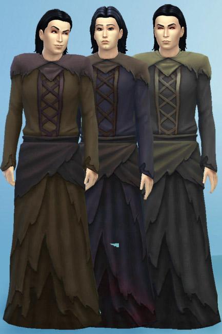 Blackys Sims 4 Zoo: Reaper dress by mammut