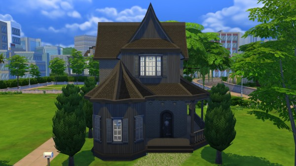 Totally Sims: Gothic Starter Mansion