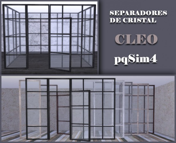 PQSims4: Glass windows Cleo