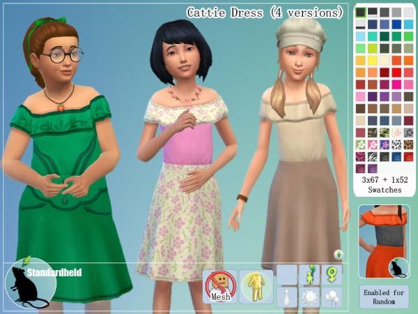 Simsworkshop: Cattie Dress by Standardheld