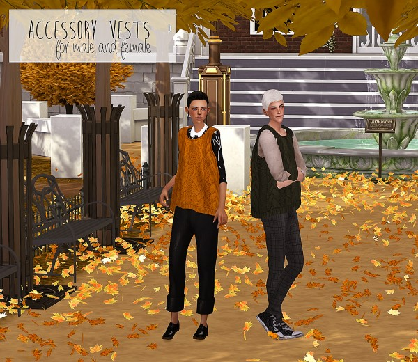 Dani Paradise: Simsimi Accessory Knit Vest